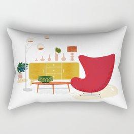 My Living Room Rectangular Pillow