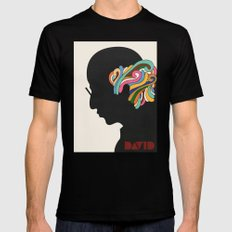 David X-LARGE Mens Fitted Tee Black