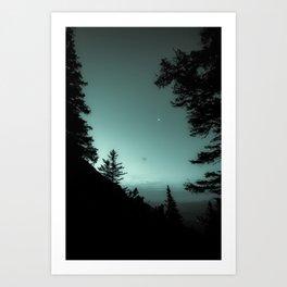 Moonlight Poem Art Print