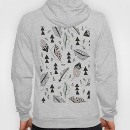 Cupid indian summer feathers and arrows Hoody