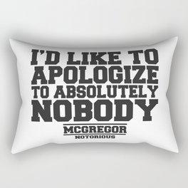 CONOR MCGREGOR QUOTES Rectangular Pillow