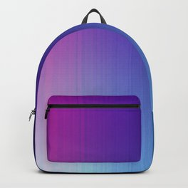 Fuchsia Blue Ombre Backpack