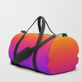 Colorful Gradient Pattern Neon Abstract Rainbow Duffle Bag