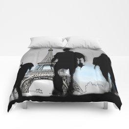 Les Parisiennes Comforters
