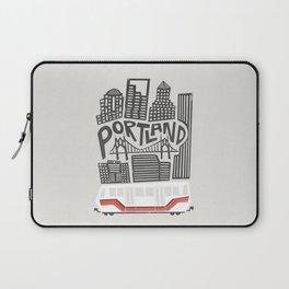 Portland Cityscape Laptop Sleeve