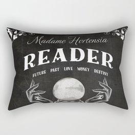 Gypsy Crystal Ball Reader Sign Rectangular Pillow