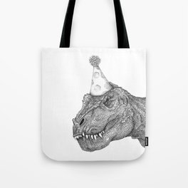 Party Dinosaur Tote Bag