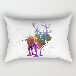Sven in watercolor. Rectangular Pillow