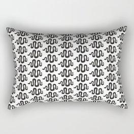 black snakes Rectangular Pillow