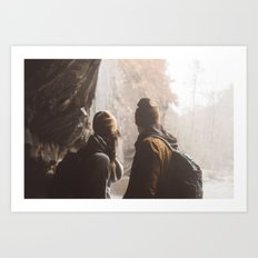 Hike Together Art Print