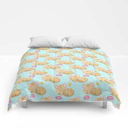 Cute Cat #3 Comforters
