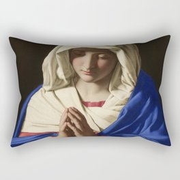 The Virgin In Prayer Giovanni Sassoferrato Rectangular Pillow