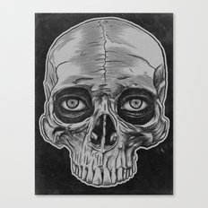 Behind the skull Canvas Print