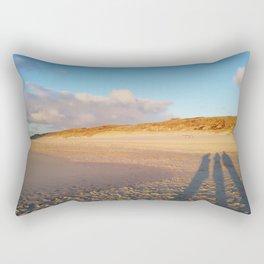 three shadows Rectangular Pillow
