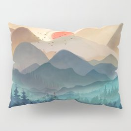 Wilderness Becomes Alive at Night Pillow Sham