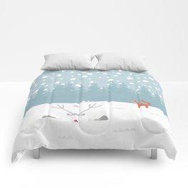 Deep Snow Comforters
