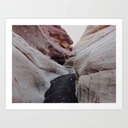 Mosaic Canyon Art Print