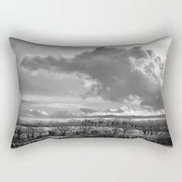 Towering Clouds Over Wiltshire Rectangular Pillow