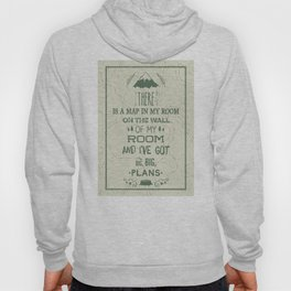 Maps - The Front Bottoms Hoody