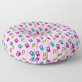 Game boy colors rain Floor Pillow