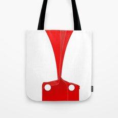 Silhouette Racers - Ferrari 458 Tote Bag