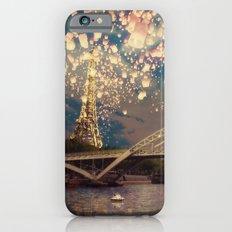 Love Wish Lanterns over Paris Slim Case iPhone 6s