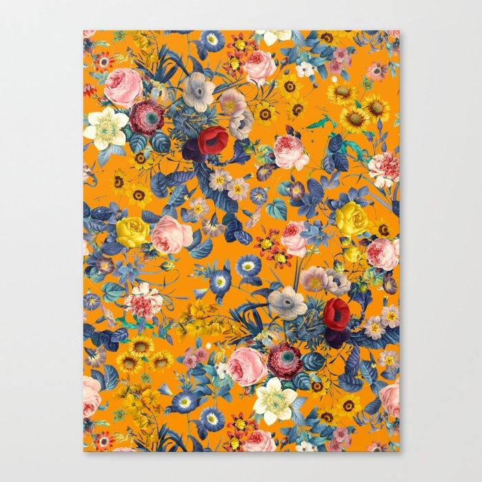 Summer Botanical Garden IX Canvas Print