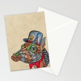 Steampunk G Stationery Cards