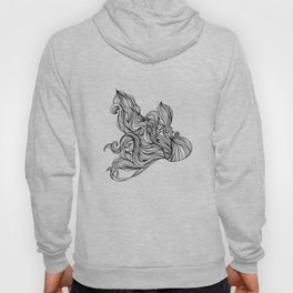 Mortal remains 2013 Ink on Paper Hoody