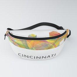Cinncinati Ohio Skyline WB1 Fanny Pack