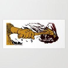 drive // Call them Art Print