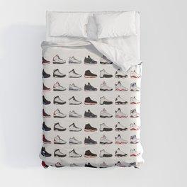 Air Jordan Series Collection 1-14 Duvet Cover
