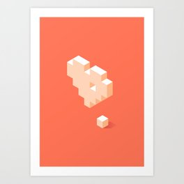 Missing Piece Art Print