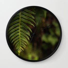 Fern II Wall Clock
