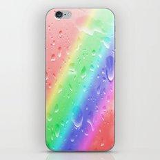 Rain on the rainbow iPhone & iPod Skin