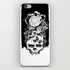 Dodecahedron Skull iPhone & iPod Skin