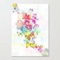 paisley flutter Canvas Print