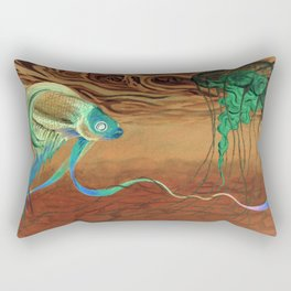 greetings [from the other side] Rectangular Pillow