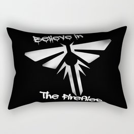 Believe In The Fireflies (The Last Of Us) Rectangular Pillow