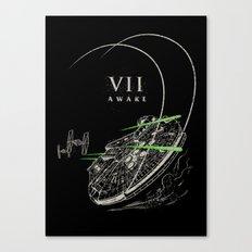 VII: Awake Canvas Print