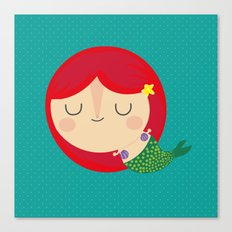 Little Mermaid Canvas Print