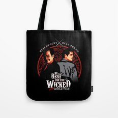 No Rest for the Wicked Tote Bag