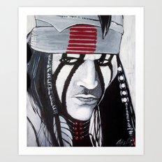 KE-MO SAH-BEE (FAITHFUL FRIEND) Art Print