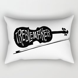 Treblemaker Rectangular Pillow