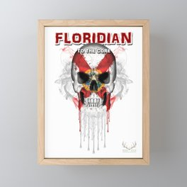 To The Core Collection: Florida Framed Mini Art Print