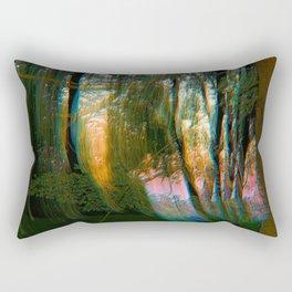 Trippy Trees Rectangular Pillow