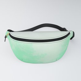 Out of focus - cool green Fanny Pack