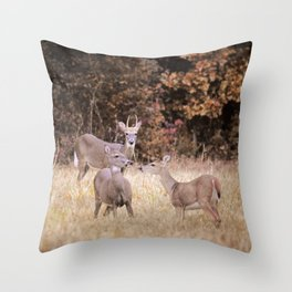 Silent Witness Throw Pillow