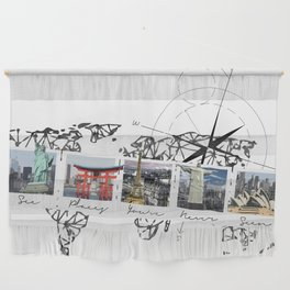 See Places You've Never Seen Wall Hanging