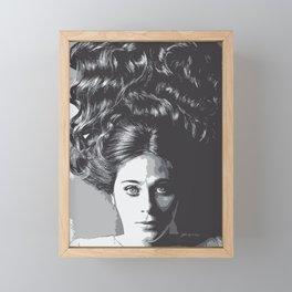 Zooey Framed Mini Art Print